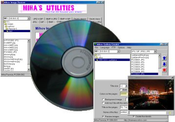 Mihov Picture Downloader on a CD